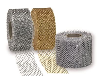 SIENA metallic tulle 20-m-roll